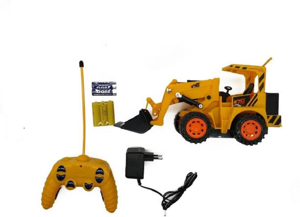 Bluwings Remote Control High Performance Engineering Construction Truck Toy For Kids