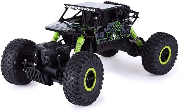 MOUSETRAPS Rock Crawler Rechargeable RC 4WD Rally Car 1:18 Scale 2.4GHz