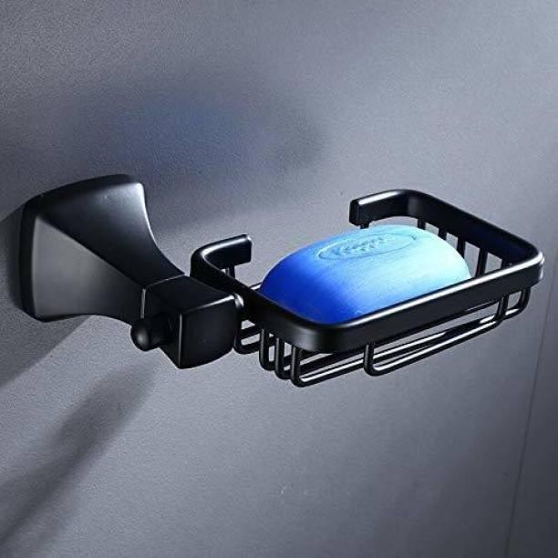 imPULSE Space Aluminum Soap Dish/Soap Stand/Soap Holder/Bathroom Soap Holder/Bathroom Accessories(Black)