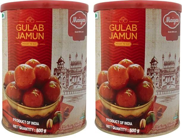 Maiyas Gulab Jamun Tin
