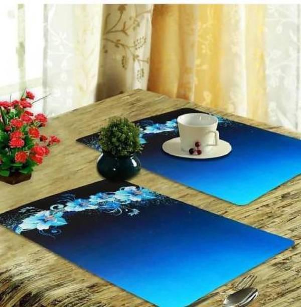HIMANSHI Rectangular Pack of 6 Table Placemat