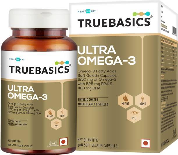 TrueBasics Ultra Omega-3 Fatty Acids With 1250mg Fish oil