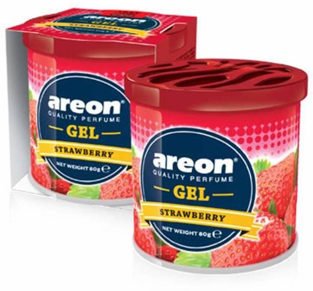 areon Strawberry Car Perfume Car Air Freshener Diffuser