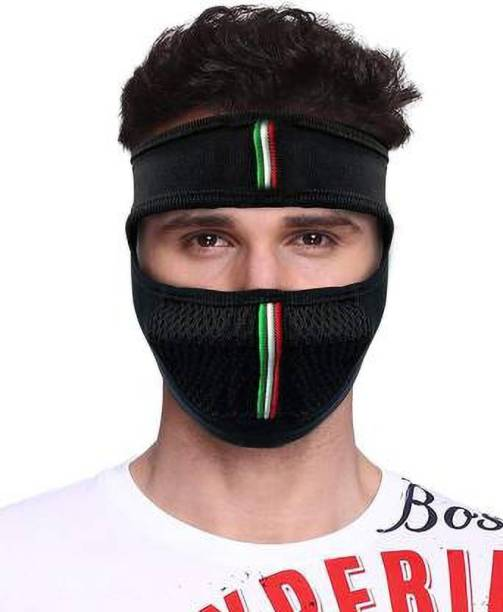 Palaksha Exports Black Bike Face Mask for Men & Women