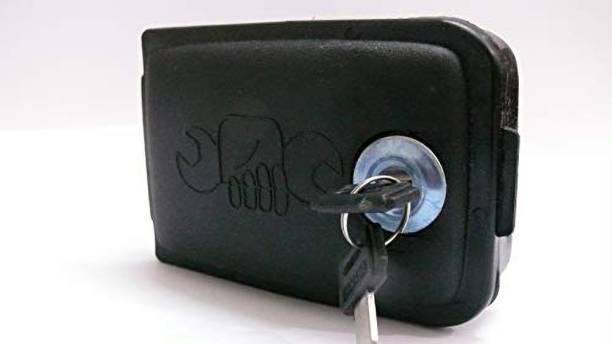 My Earth Store Road Religion Yamaha RX100/RXG 135 Tool Utility Box Luggage Box Black Plastic Motorbike Saddlebag