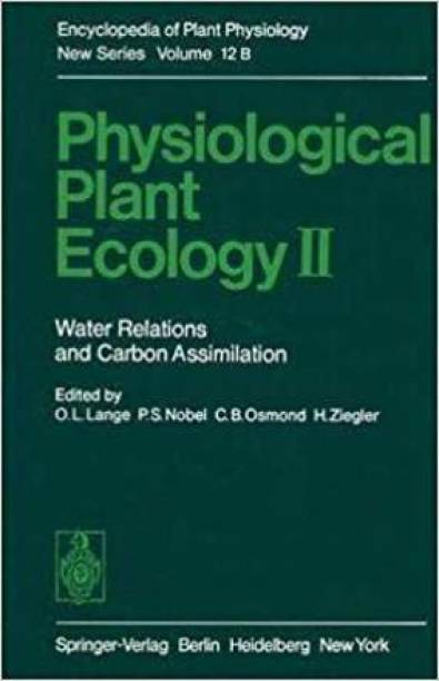 Physiological Plant Ecology II [Special Indian Edition/ Reprint Year : 2020]