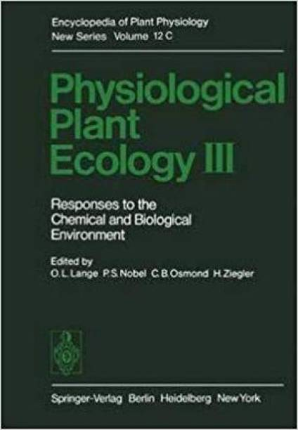 Physiological Plant Ecology III [Special Indian Edition/ Reprint Year : 2020]