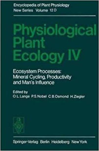 Physiological Plant Ecology IV [Special Indian Edition/ Reprint Year : 2020]