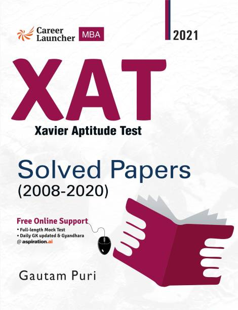 Xat (Xavier Aptitude Test) 2020 Solved Papers 2008-2020