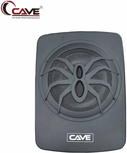 Cave RJ-490 180-Watts RMS Underseat 10-inch Active Aluminium Car Subwoofer with Inbuilt Amplifier and Bass Contoller Subwoofer