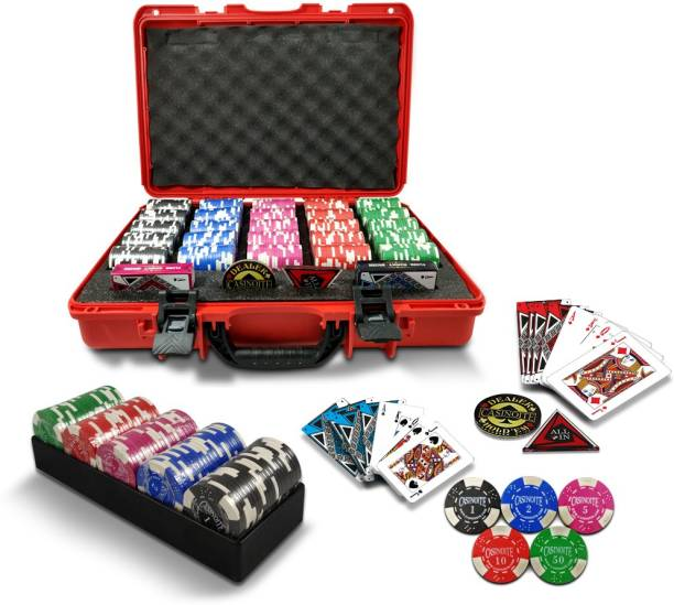 Sands Inc Rummy Counter Chips Casino Grade 500