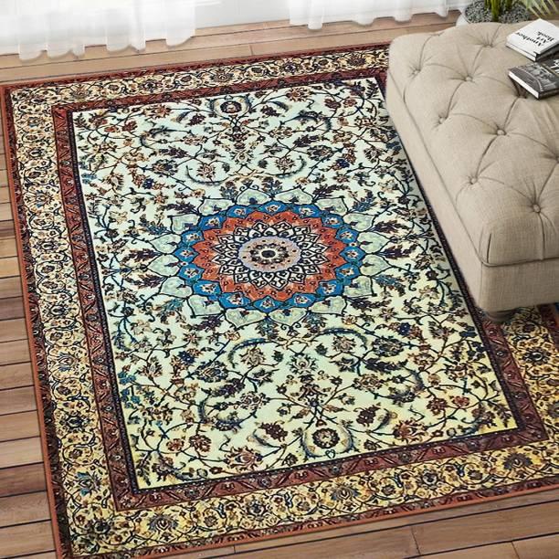Flipkart SmartBuy Multicolor Polyester Carpet