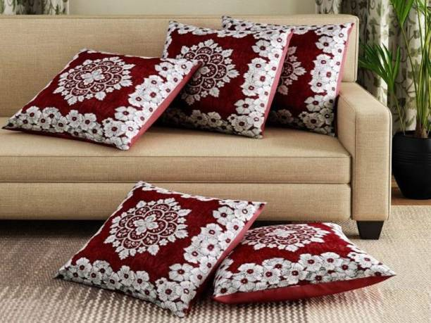 TruewalleT Embroidered Cushions Cover