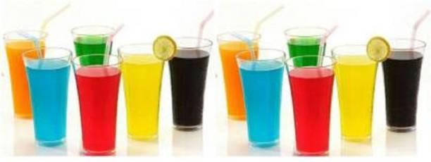 SlySign (Pack of 12) SS PLASTIC GLASS SET OF 12 Glass Set