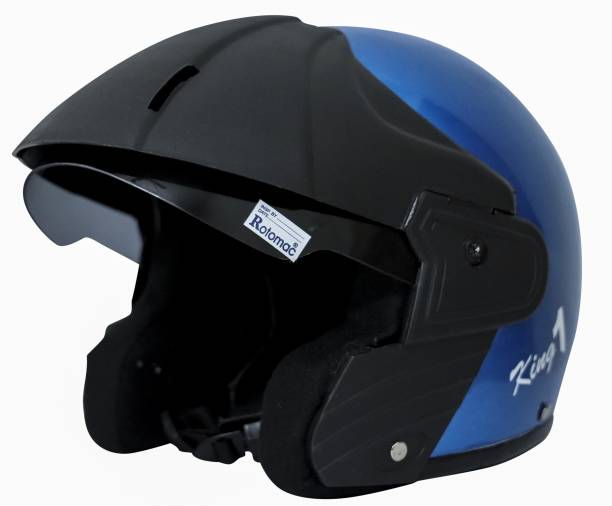 Rotomac Dhoom Blue Motorbike Helmet