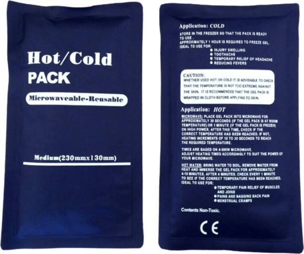 Selva Front Hot and Cold Heat Pack for Hot and Cold Therapy Hot and Cold Pack