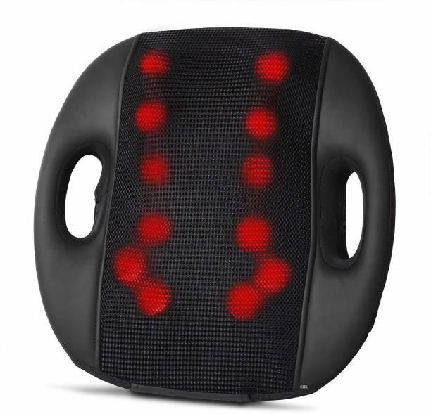 GHK H90 GHK H90 Shiatsu Back, Neck, Calf, Thigh 12 Ball Multifunction Massage Cushion for Car & Home (Multicolour) Massager