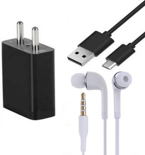 Badger Wall Charger Accessory Combo for Xiaomi Redmi Note 7 Pro,7S,7,8A,Mi A3, Mi A2, Mi A1 Fast Charger Original Adapter like Wall Charger and Mobile Power Adapter Cable Android Smartphone Charger High Speed Travel Charger With 1 Meter TYPE- C USB Data Transfer Cable