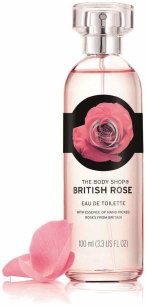 THE BODY SHOP British Rose Eau De Toilette Eau de Toilette  -  100 ml