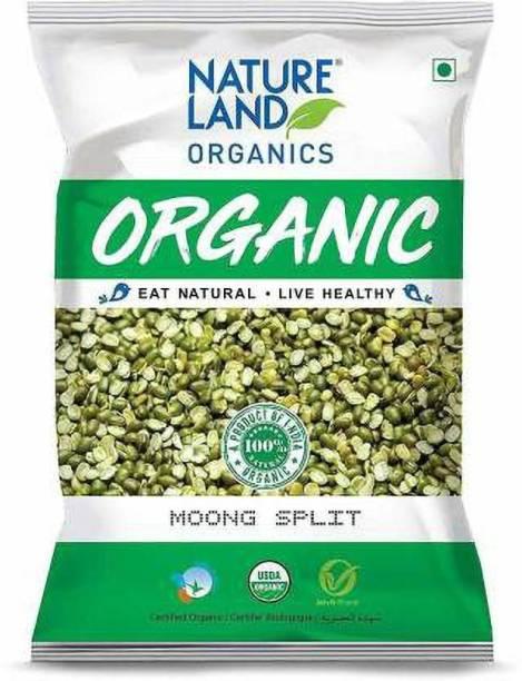 Natureland Organics Green Moong Dal (Split)