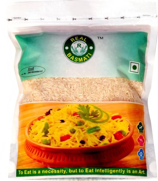 Real Basmati Half Grain (Pack of 10) Basmati Rice (Medium Grain, Steam)