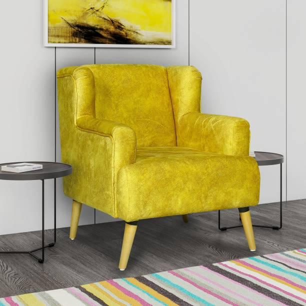 vittoria Fabric 1 Seater  Sofa