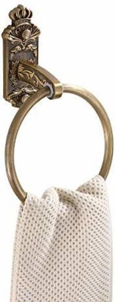 Plantex Antique Aluminum Towel Ring/Napkin Holder/Hanger/Bathroom Accessories Brass Towel Holder