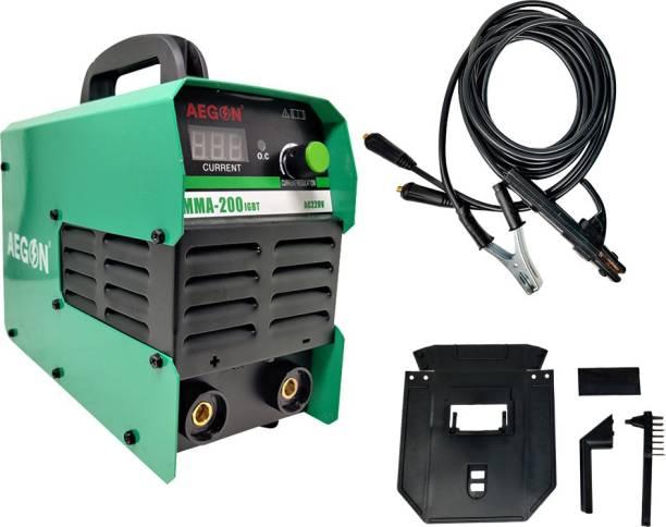 AEGON MMA 200 IGBT 200 Amps Dc Arc Inverter Welding Machine