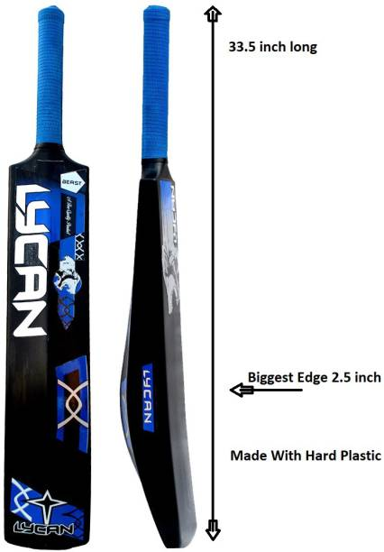 LYCAN Full Size PVC/Plastic Cricket  Bat