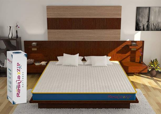 CENTUARY Resilia zZip AntiMicrobial 5 inch Single High Resilience (HR) Foam Mattress