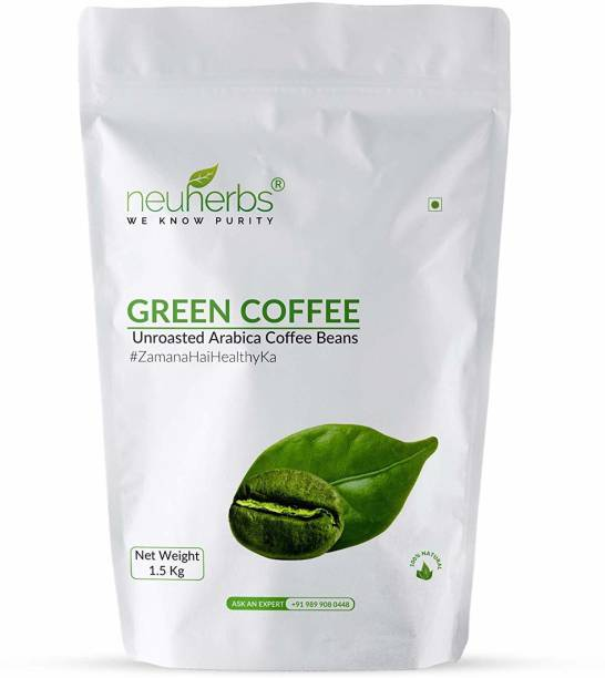 Neuherbs Green Coffee Beans for Weight Loss Instant Coffee