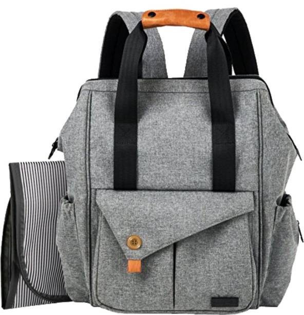 PackNBuy Diaper Backpack Baby Bag with Changing Mat Pad Diaper Bags for Mom Mother Maternity Travel