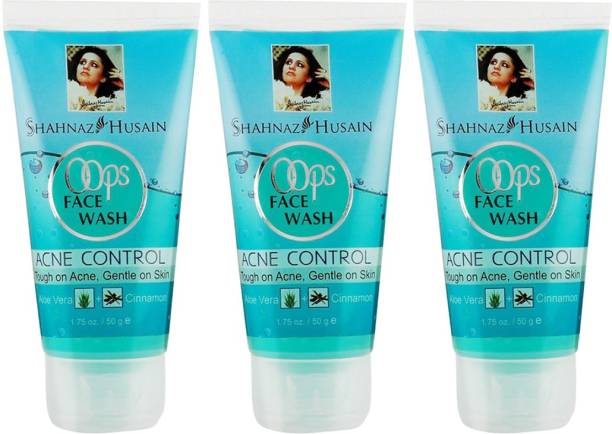 Shahnaz Husain Oops  50g pack of 3 Face Wash
