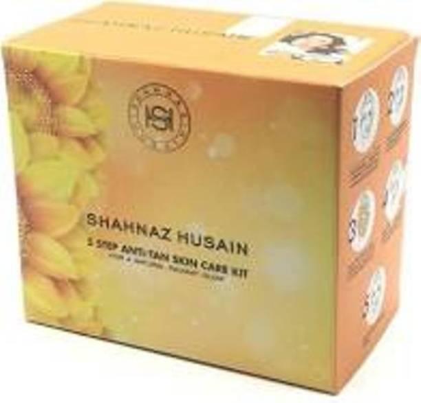 Shahnaz Husain 5 Step Anti-Tan Skin Care Facial Kit