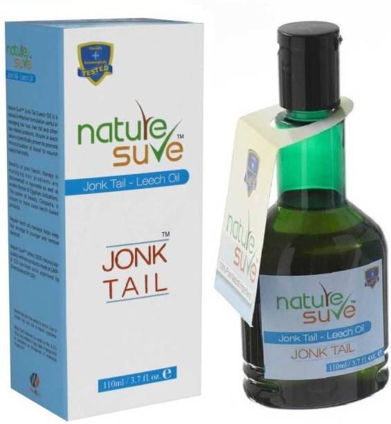 Nature Sure Jonk Tail (Leech Oil) for Hair Problems in Men & Women Hair Oil