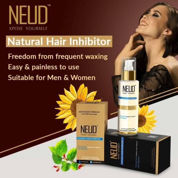 NEUD Natural Hair Inhibitor for Men & Women-1 Pack (80g) Cream