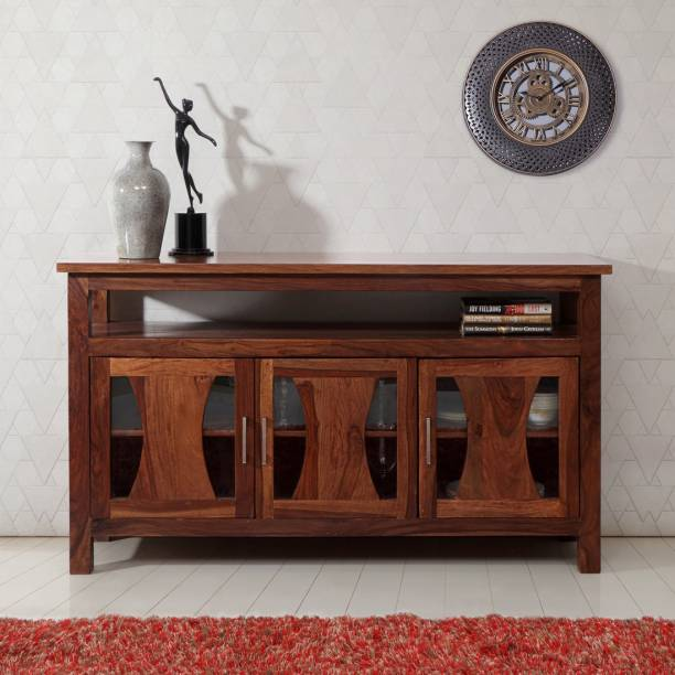 EVOK Brighton Solid Wood Crockery Cabinet