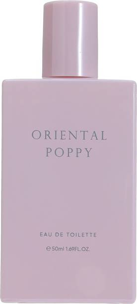 MINISO Color of life EDT Perfume for Women Long Lasting, Oriental Poppy, 50ml Perfume  -  50 ml