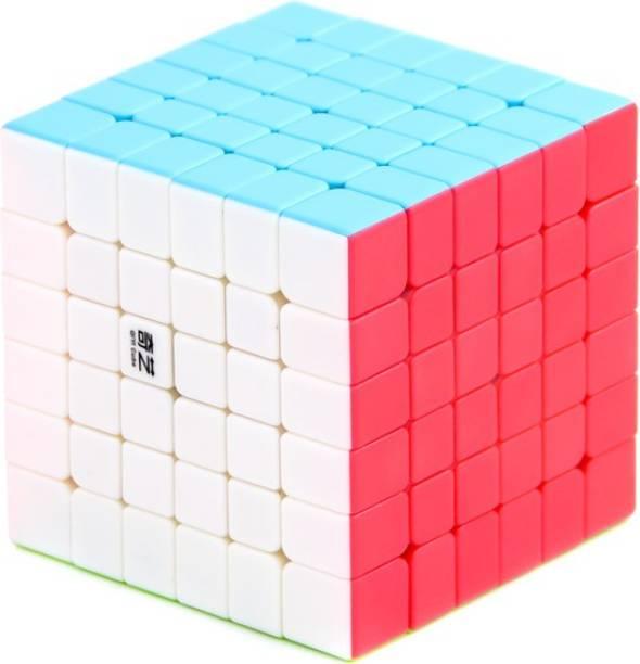 Cubelelo QiYi QiFan 6x6 Stickerless Cube Puzzle Brain Teaser