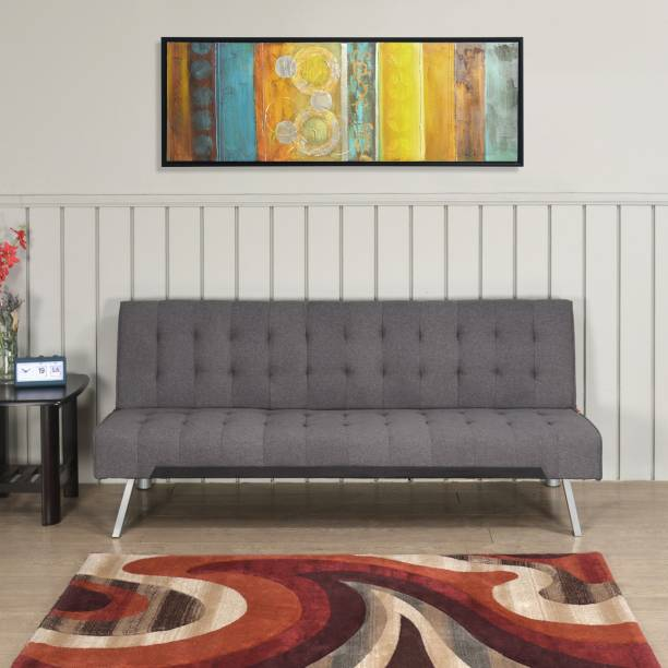 @Home by nilkamal Wichita Double Solid Wood Sofa Bed