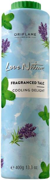 Oriflame Love Nature Fragranced Talc Cooling Delight