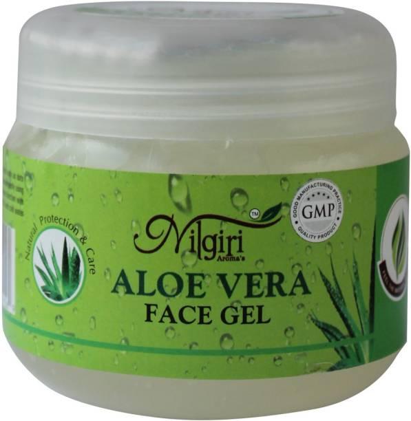 Nilgiri Aromas Aloe vera Face Gel 200g Men & Women