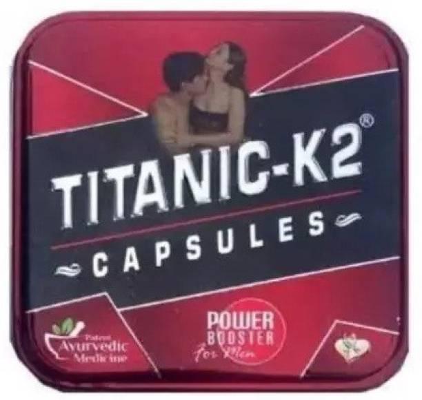 TITANIC-K2 Ayuevedic power booster capsule 06 NOS.