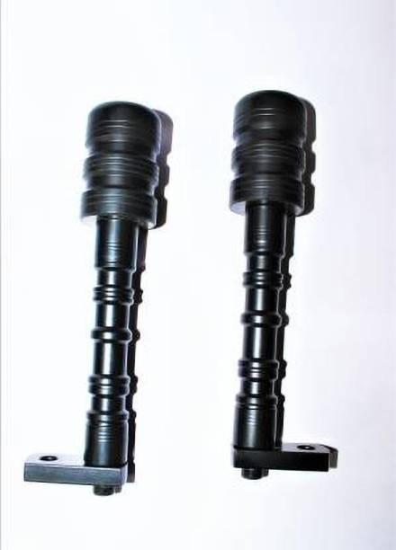 JBRIDERZ Heavy Duty CNC Frame Slider Crash Protection Guard (Frame Protector) for YZF R15 V3 & MT 15-Black Bike Crash Guard