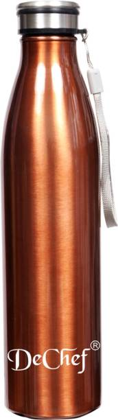 Dechef Pearl Single Wall Stainless Steel 900 ml Bottle