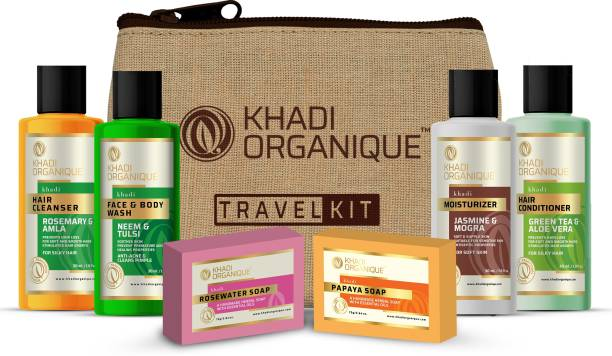 khadi ORGANIQUE Complete Holi Pack For Skin and Hair Care , Keep you truly beautiful even when your face is all smeared with Holi colors , Stay Safe
