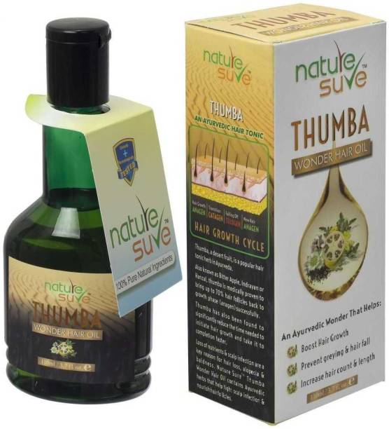 Nature Sure Thumba Hair Oil for Fast Action in Men and Women – 1 Pack (110ml) Hair Oil