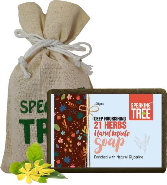 Speaking tree Deep Nourishing 21 Herbs Handmade Soap - 100gms