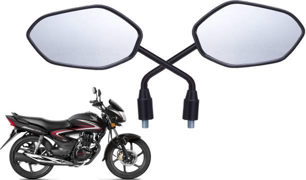 JCTEK Manual Rear View Mirror For Honda Universal For Bike