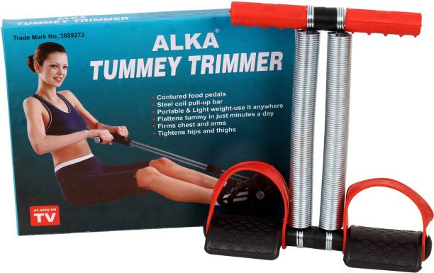 ALKA PURE STEEL QUALITY DOUBLE SPRING TUMMY TRIMMER FOR HOME GYM Ab Exerciser